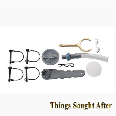 Classic Accessories Large Pontoon Boat Repair Kit - Black