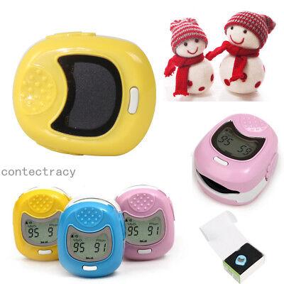Children Kids Fingertip Pulse Oximeter Led Display Spo2pr Monitor Blood Oxygen