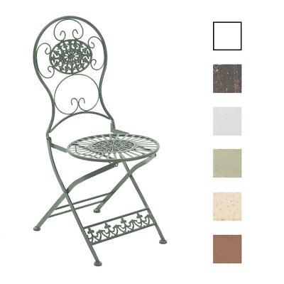 Klappstuhl Mani Gartenstuhl Metallstuhl Stuhl NEU Terrassenstuhl Shabby Chic
