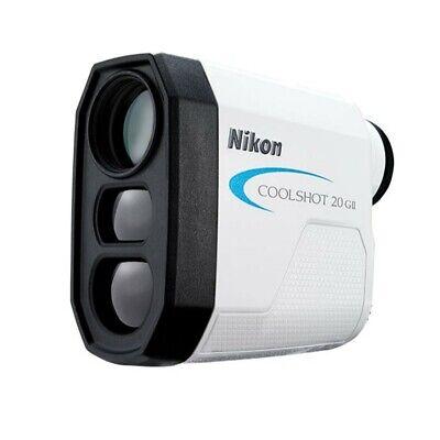 NEW 2019 Nikon Coolshot 20 GII Laser Golf Rangefinder with 6