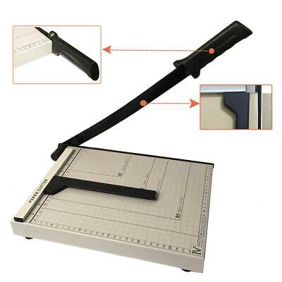 12 Metal Base Paper Cutter Trimmer Scrap Booking Desktop Sheet A4 Guillotine Us