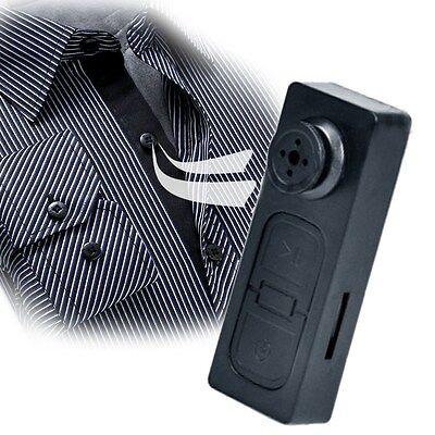 Mini Hidden Button Pinhole Camera DVR Concealed Spy Camcorder Surveillance Video