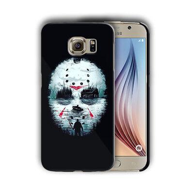 Halloween Jason Mask Samsung Galaxy S4 5 6 7 8 9 10 E Edge Note 3 Plus Case 26 (Halloween 9 Mask)