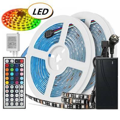 D RGB Stripe Streifenlicht Schwarz PCB 5050 SMD Lichtband (Weihnachten Schwarz Lichter)