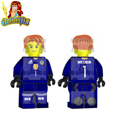 LEGO Custom Football Soccer FIFA World Cup Perisic in Croatia National Jersey