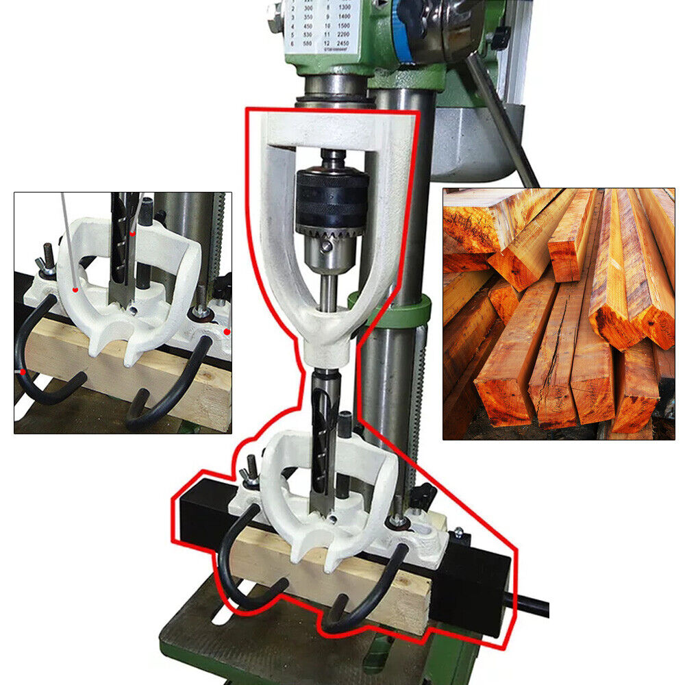 Woodworking Hole Drill Bit Mortising Chisel Mortising