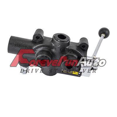 Hydraulic Log Splitter Control Valve With Return Stroke Detent 25 Gpm 3000 Psi