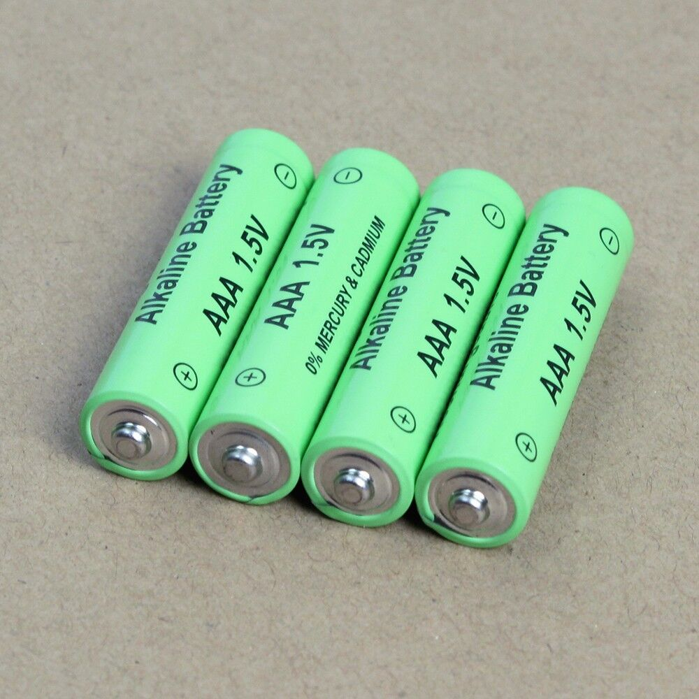 4PCS 1.5V AA Alkaline Rechargeable Batteries  for toy camera RC controller