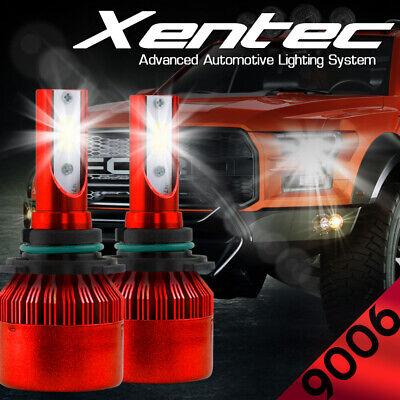XENTEC LED HID Headlight Conversion kit 9006 6000K for Infiniti J30 1993-1997