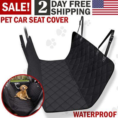Pet Car Seat Cover Back Rear Bench Mat Pad Waterproof Hammock Car Dog Seat Cover