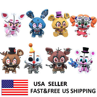Five Nights At Freddy's Foxy FNAF Action Figure Cake Topper Kids Gift Toys 8 PCS](Foxy Kids)