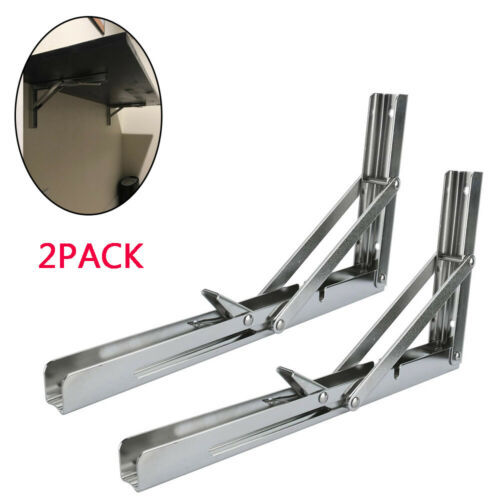 Wall Mount Folding Computer Desk Brackets For Home Office PC