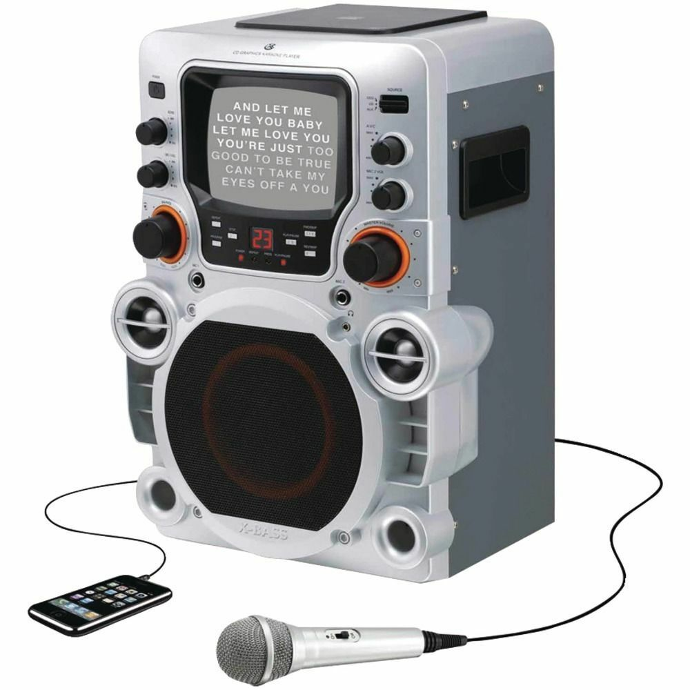 karaoke machine on ebay
