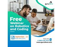 Registration link for Robotics and Coding Free Webinar - Sep 25th, 2021 at 9:00 AM (CST)