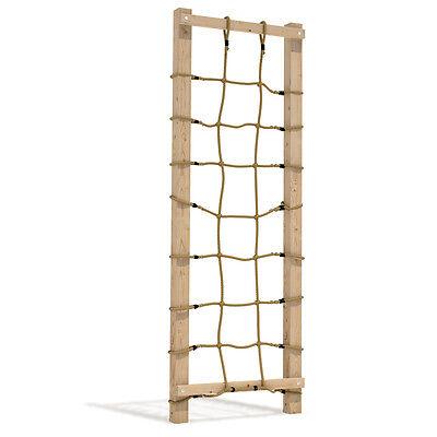 Kletternetz Strickleiter Knotennetz für draussen für Spielturm 75x200cm