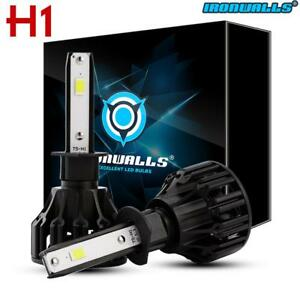 2018 Upgrade H1 1400W 6000K White LED Headlight Conversion Bulb High Lo Beam Kit