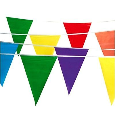 100ft Multicolor Birthday Party Flag Pennant Banner Garland Decoration Supplies