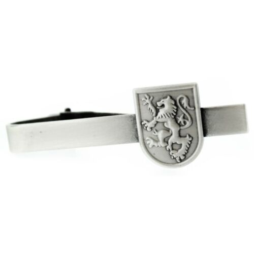 Scottish Lion Rampant Pewter Tiebar