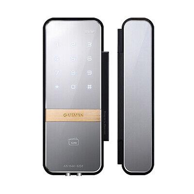 [Express] Gateman Shine Digital Lock for Double Glass Doors + 4 KeyTags
