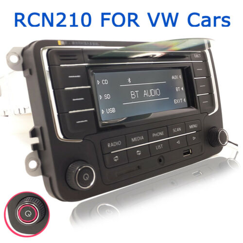 Autoradio RCN210 BT CD USB SD AUX Für VW GOLF PASSAT TIGUAN POLO CC JETTA CADDY