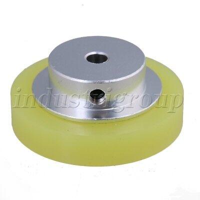 50x6mm Silicone Industrial Encoder Wheel Meter Measuring Wheel F Rotary Encoder