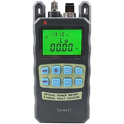 Fiber Optic Cable Tester Visual Fault Locator Portable Optical Power Free Ship