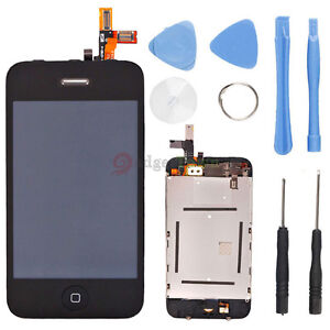 OEM Full Assembly Front Glass Touch Screen LCD Digitizer + Tools for iPhone 3GS