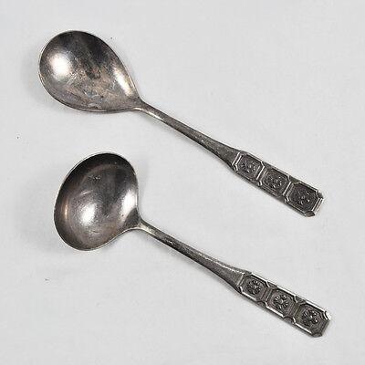 Serie Kellen (BSF Serie ALTDEUTSCH 90er Versilberung Vorlegelöffel & Soßenkelle / trowel spoon)