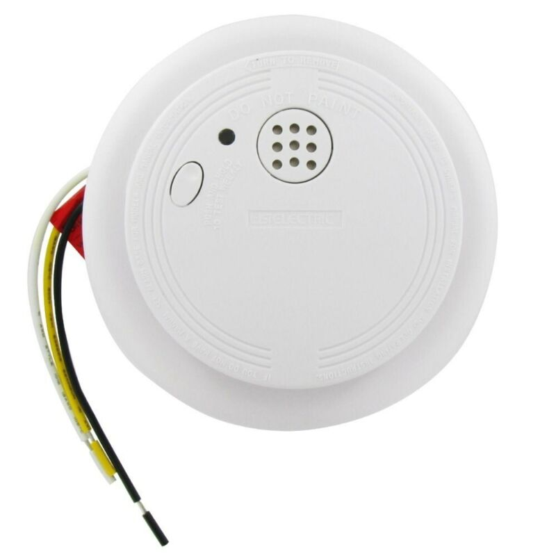 USI 1204 Wire-In Smoke Alarm with Battery Backup