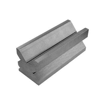 "V-Die Block 4-Way 12"" x 2-3/8"" x 2-3/8"" Heavy Duty Solid Steel Press Brake"