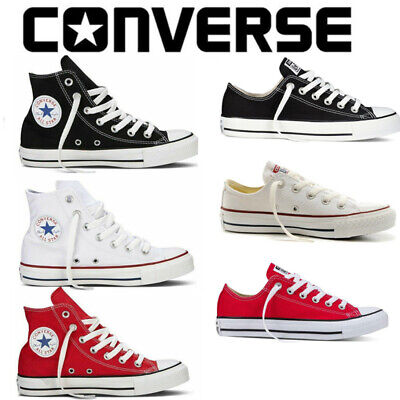 Converse All Star Chuck Taylor Mens Womens Unisex High Low Top Trainers Pumps