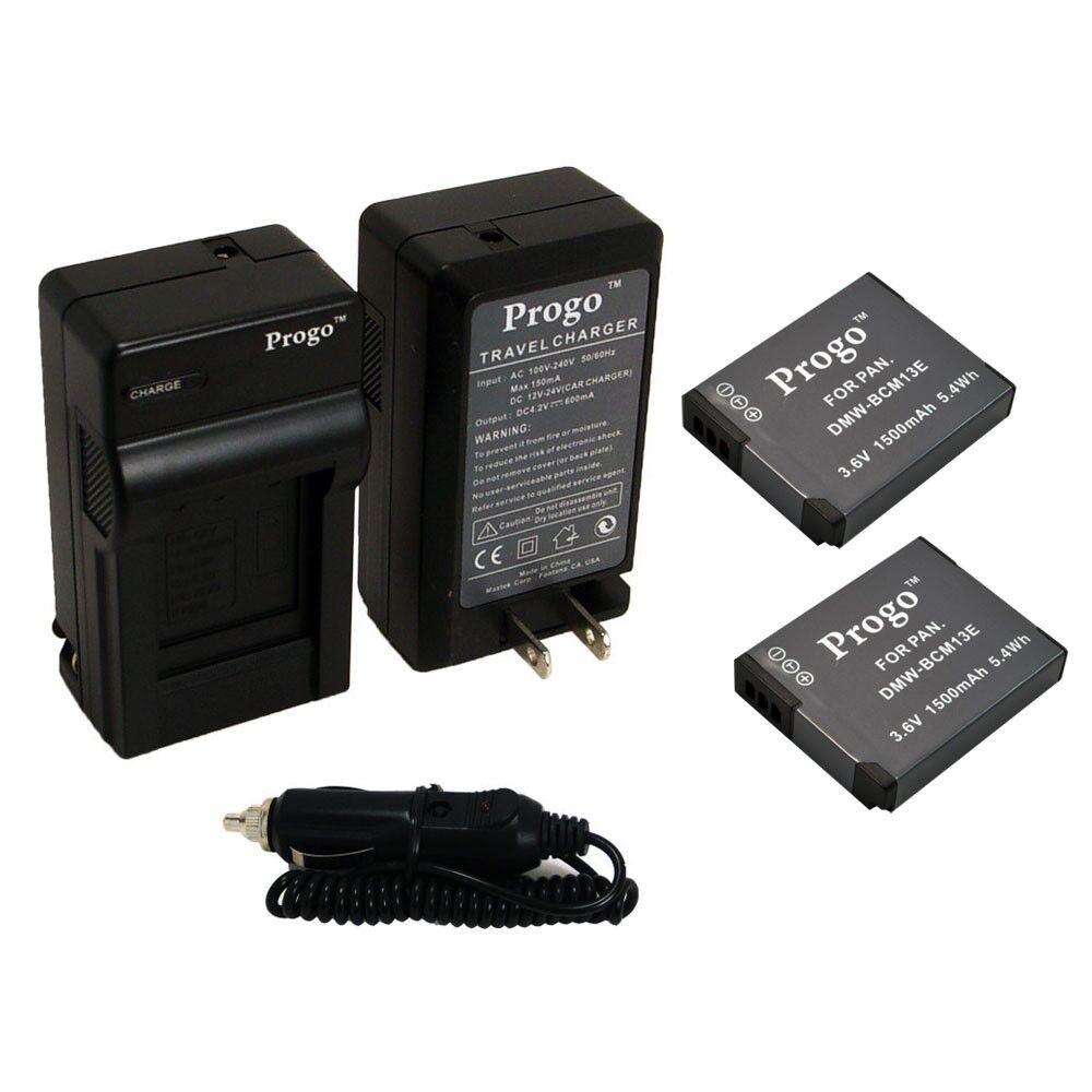 как выглядит Набор аксессуаров для фотоаппаратов или видеокамер 2 Battery + Charger Kit for Panasonic Lumix DMC-ZS50 DMC-ZS45 DMC-ZS40 DMC-ZS35 фото