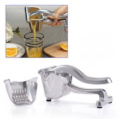 Commercial Pro Manual Citrus Fruit Lemon Orange Hand Press Juicer Juice Squeezer