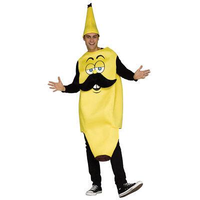 Mens Mr. Banana Costume size Standard - Banana Man Costume