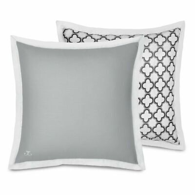 Jill Rosenwald Reversible Sham by WestPoint Home Copley Collection, White/Grey