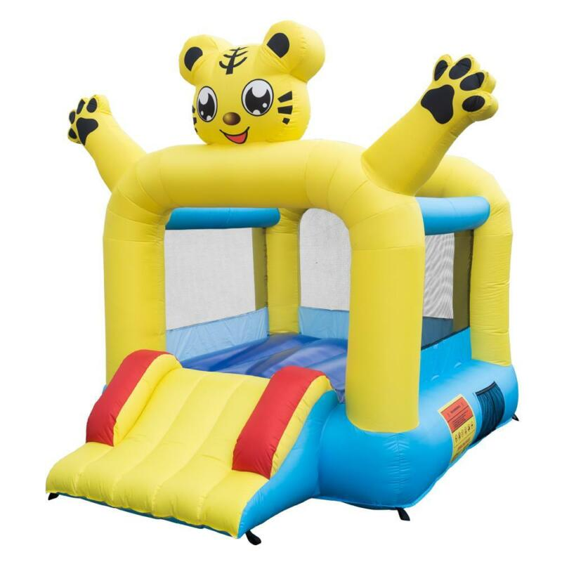 Inflatable Bounce House Castle Kids Jumper Slide Safety Bouncer w/Carrying Bag