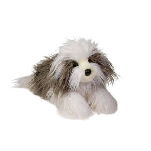"New DOUGLAS CUDDLE TOY Stuffed Soft Plush OLD ENGLISH SHEEPDOG Dog Puppy 20"""