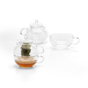 Ml Glass Teapot With Strainer