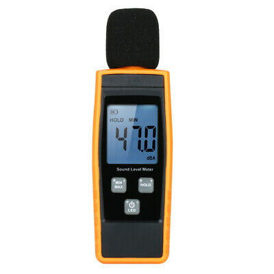 Lcd Sound Level Meter Db Meters 30-130dba Noise Volume Decibel Monitoring R5c8
