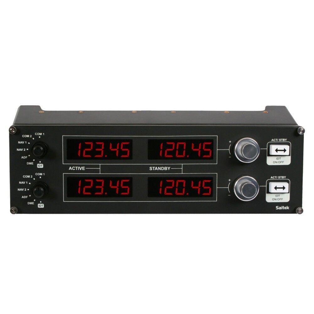 Logitech G Saitek PZ69 Pro Flight Radio Panel for Flight