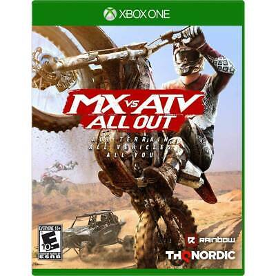 MX vs. ATV All Out (Microsoft Xbox One, 2018) NEW