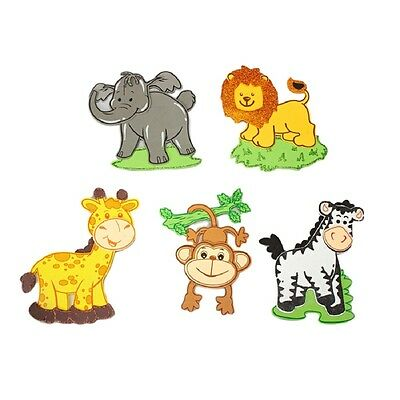 10 (5 Styles) Foam Jungle Animals 8