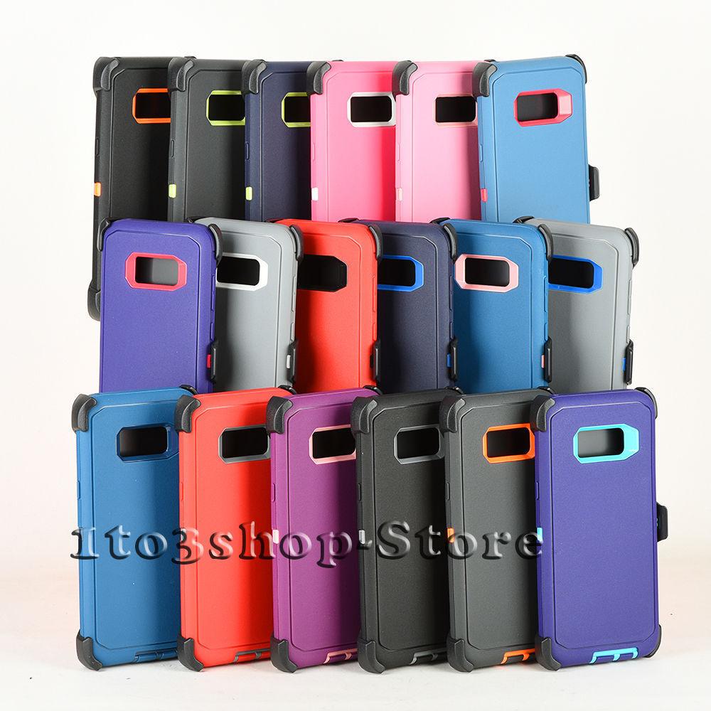 Samsung Galaxy S8/Galaxy S8+ Plus Defender Hard Shell Case w