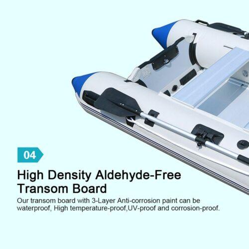 AS Boat Dinghy Raft Kayak Floorboard 2 9.8ft Gray