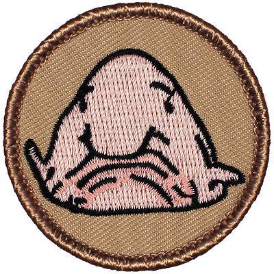 Cool Boy Scout Patrol Patch! - #726 The Blobfish Patrol!