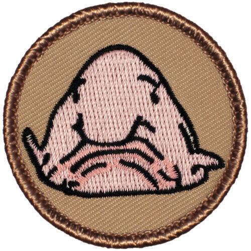 Cool Boy Scout Patrol Patch! - #726 The Blobfish Patrol! Blob!