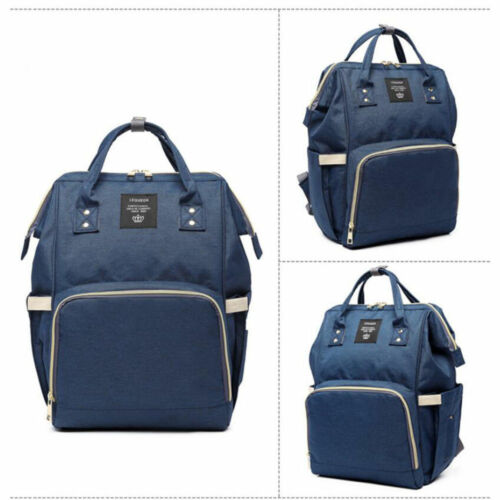 Купить LEQUEEN - LEQUEEN Mummy Maternity Nappy Diaper Bag Large Capacity Baby Bag Travel Backpack