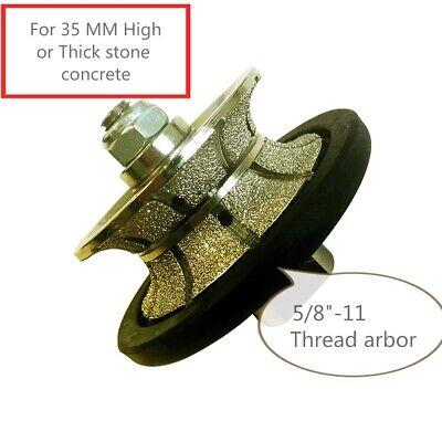 1-38 Inch Diamond Router Bit Full Bullnose Granite Concrete Marble Counter Top