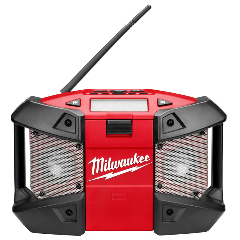 Milwaukee 2590-20 M12 12-Volt MP3 Compatible Shock Absorbing Radio - Bare Tool