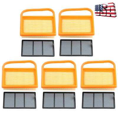 Pack Of 5 Air Filter Set For Stihl Ts410 Ts420 4238-140-4402